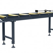 2 Metre Saw Roller table complete with length Stop