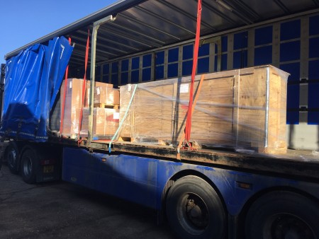 shipment from ercolina