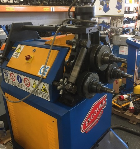 used ercolina ring roller
